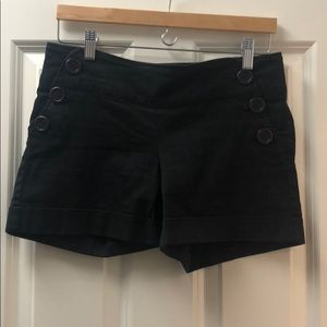 Anthropologie hybrid fat front high waisted shorts